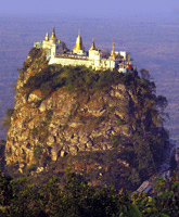 Mount Popa Myanmar photo